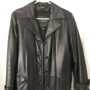 Ladies Leather jacket w/ removable winter lining